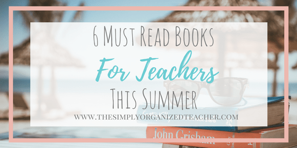 Looking for great recommendations for teachers to read? Check out this list here!