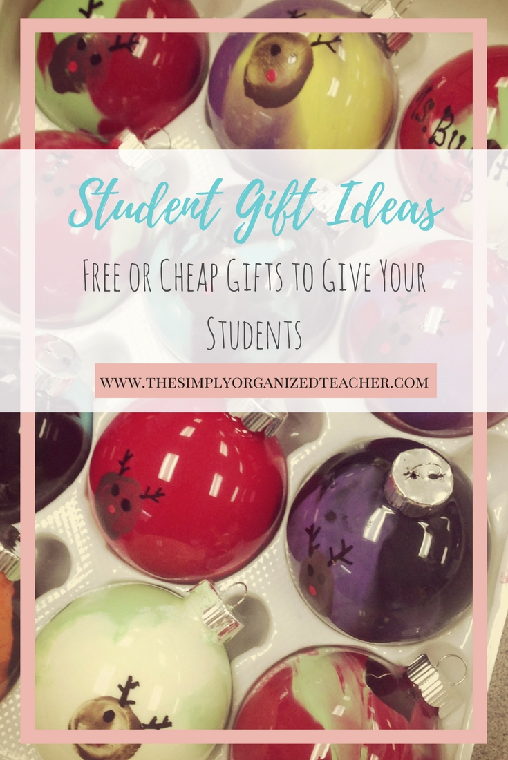 Student Gift Ideas that Are Cheap (or free!) and Easy! ·