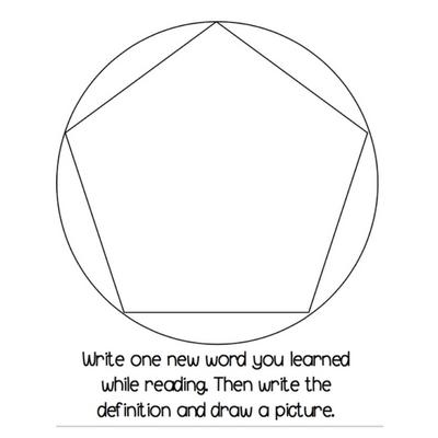 Bilingual Reading Response Dodecahedron