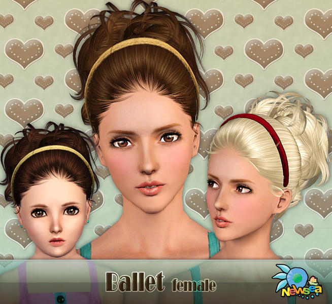 Newsea Ballet Female Hairstyle