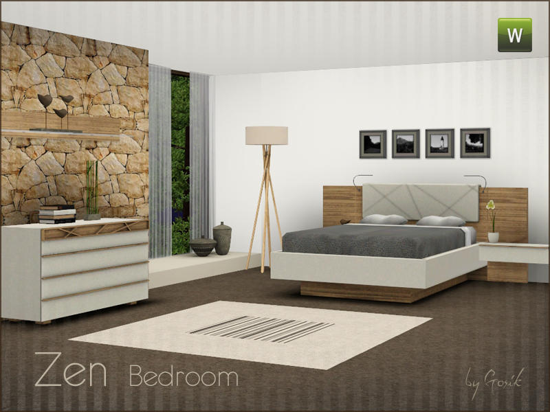 gosik's zen bedroom