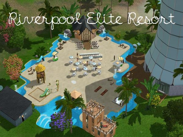 3 Resort Sims Paradise Tower Island