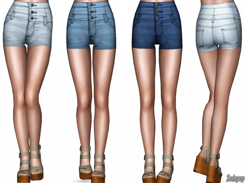 Sims 3 High Waisted Jeans