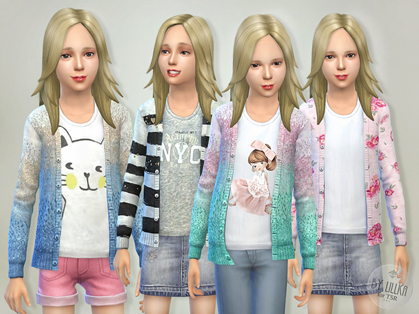 Pretty Girl Custom Sims Content