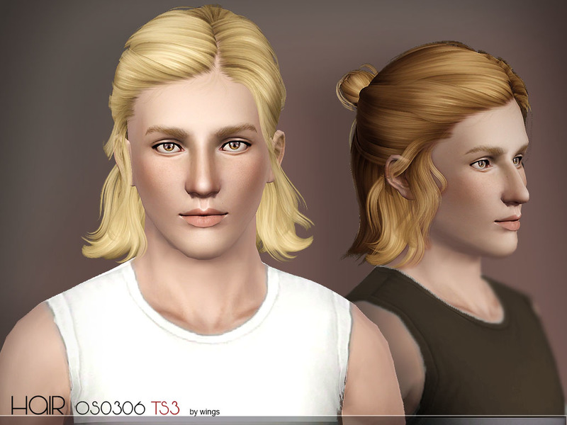Hair Cc Guys 3 Sims