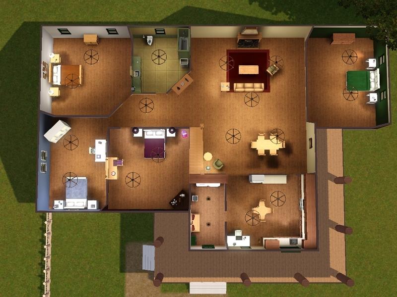 Ranch House Plans No Garage