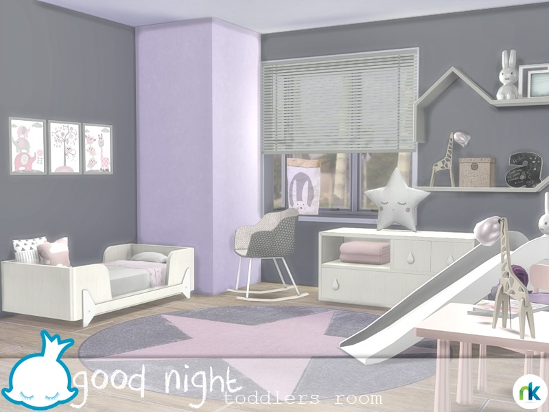 Nikadema Good Night Toddlers Room
