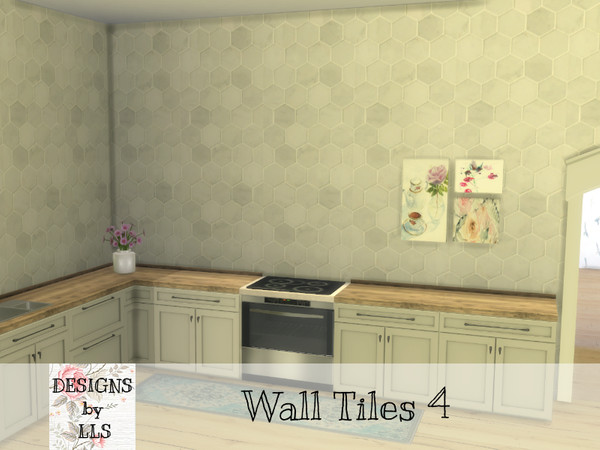 https www thesimsresource com downloads details category sims4 walls title hexagon marble tiles id 1465697