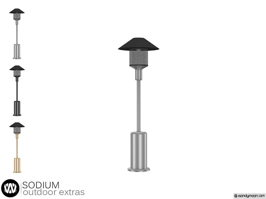 sodium outdoor patio heater lamp