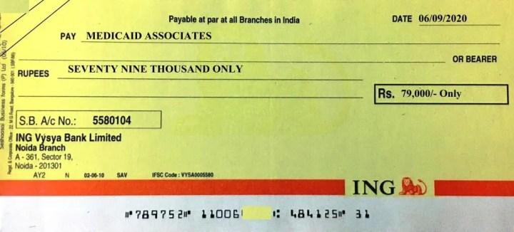 crossed cheque