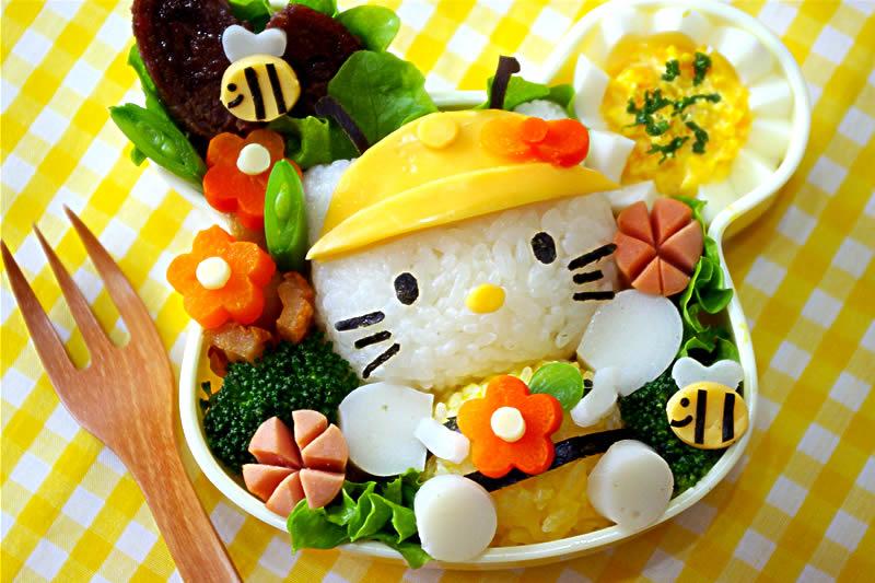 Ikonisk Hello Kitty bento boks