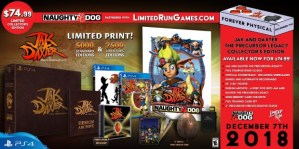 Jak And Daxter Physical And Collectors Editions Announced