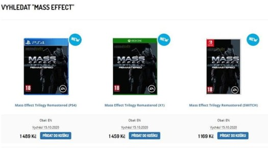 Remastered 'Mass Effect Trilogy' Rumoured For 2021 ...