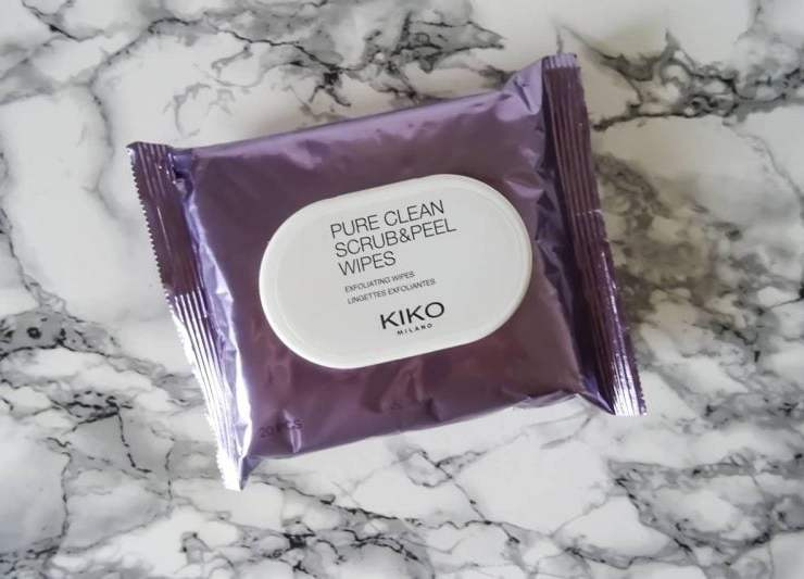 Kim K Beauty Secret - Kiko Scrub and Peel Wipes