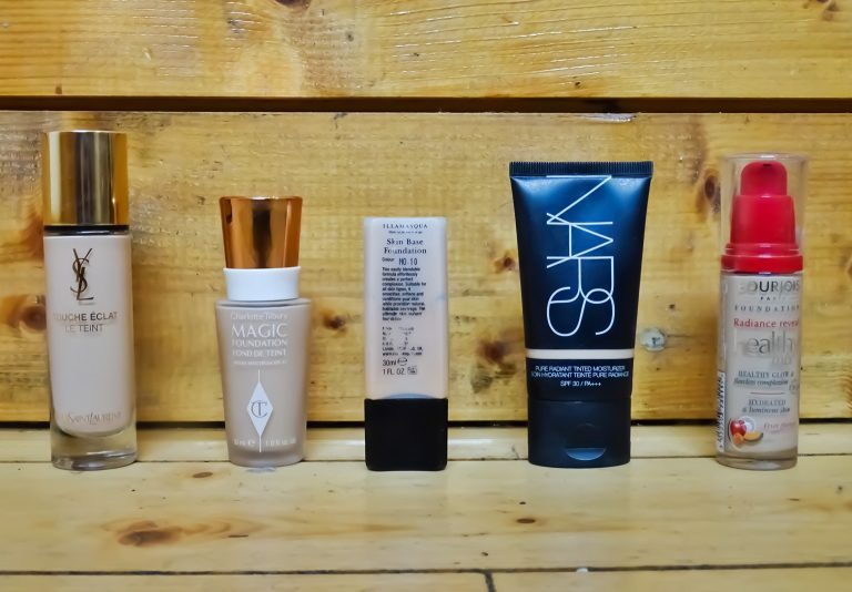 Top 5 Favourite Foundations
