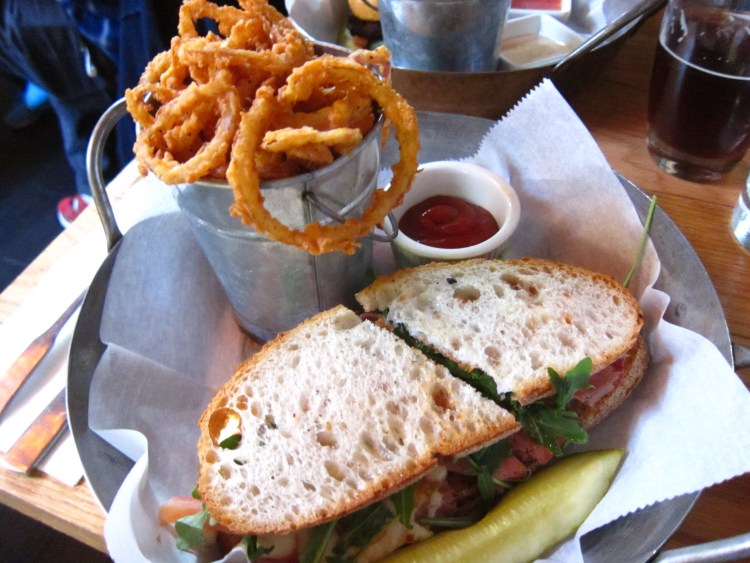Late Brunch at Two Door Tavern