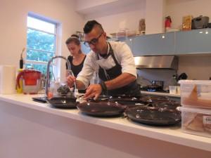 Chef Michael Patlazhan at work