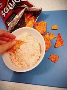 Yea I dip Doritos into Doritos cream cheese. I do what I want.