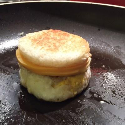 Bacon Jam pan cheese