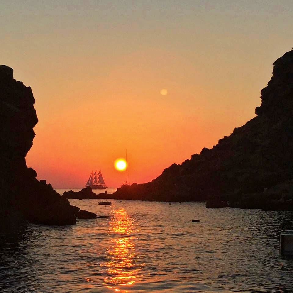 Santorini sunset 3