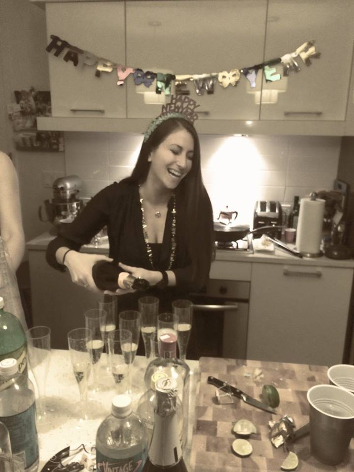 NYE 2015 hostess with mostest