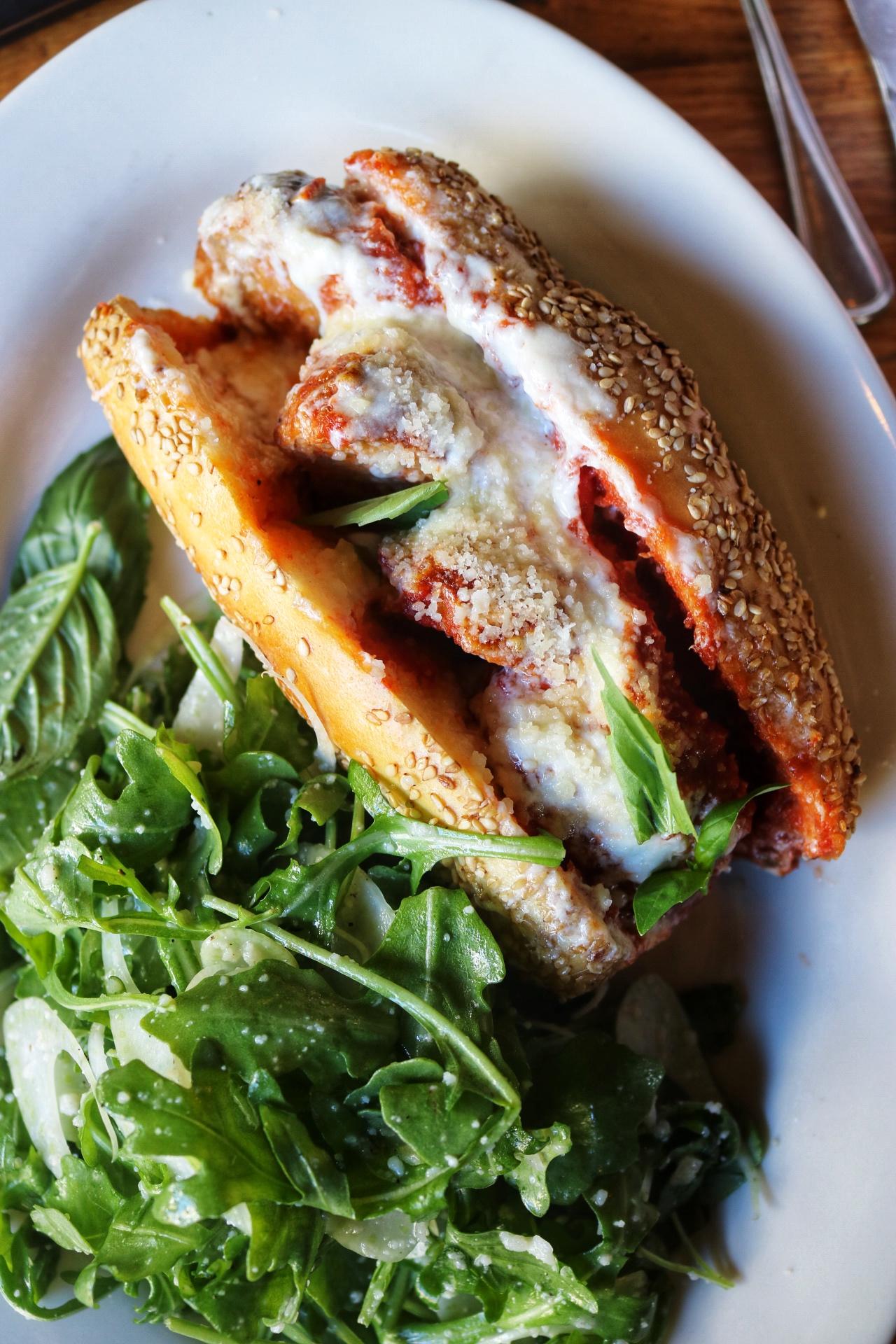 meatball sandwich the smith