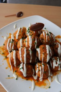 buffalo chicken meatballs skinnypig