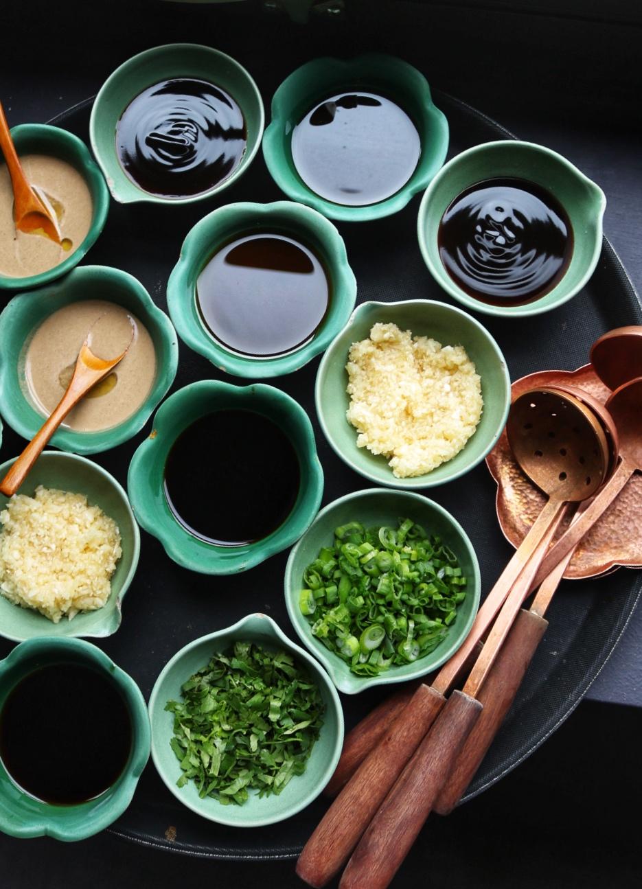 Tang Hot Pot sauces