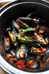 Mussels amatriciana flex mussels