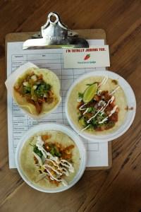 Baar Baar (Right) and Zen Taco (Top Left)