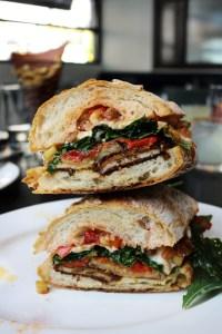 Eggplant Parm Sandwich nyc