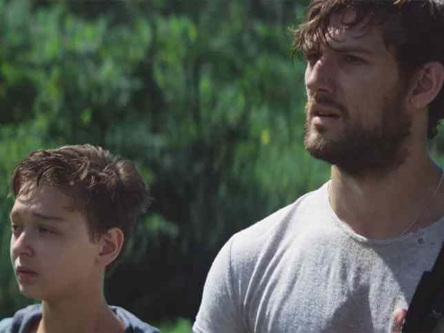 Alex Pettyfer and James Freedson-Jackson in The Strange Ones (2017)