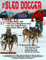 Winter Issue Cover – Sled Dogger
