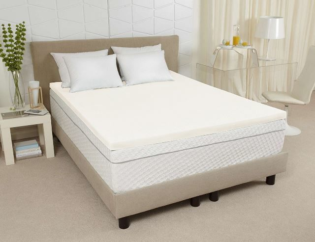 What Makes Sleep Joy Visco2 Ventilated Memory Foam Mattress Topper