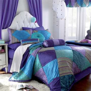28 Nifty Purple and Teal Bedroom Ideas   The Sleep Judge Learn More