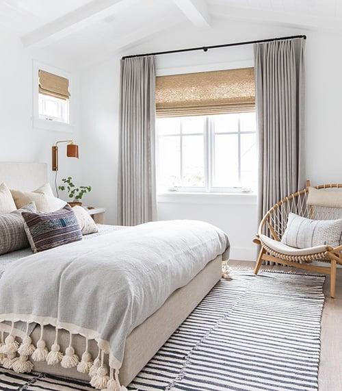 35 spectacular bedroom curtain ideas
