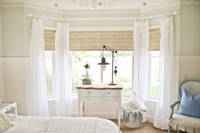 المركز التجاري نفسي تحقيق white bedroom curtains decorating ideas
