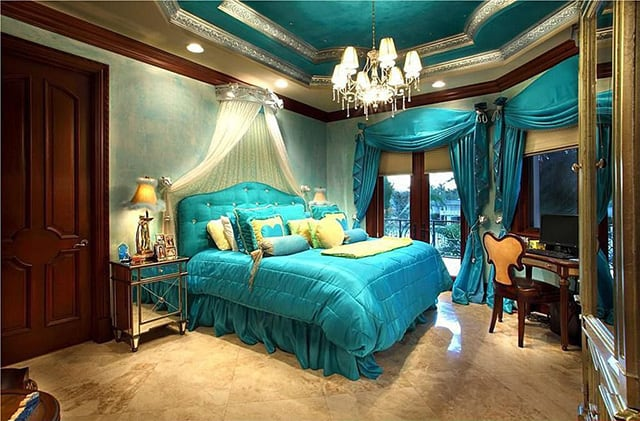 41 Unique And Awesome Turquoise Bedroom Designs The