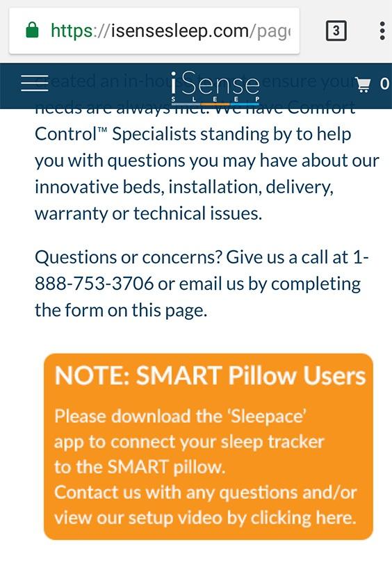 isense sleep smart pillow review smart