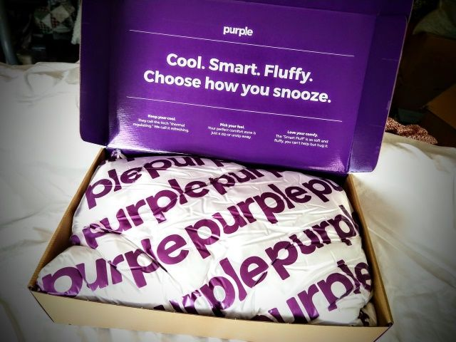 purple plush pillow review the sleep