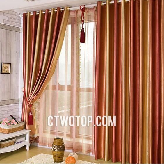 15 amazing orange blackout curtain