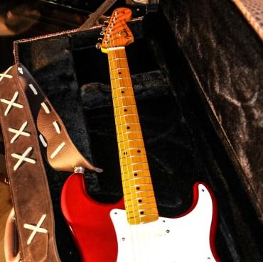 Stratocaster red strat David Gilmour studio Sleepless 5