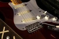 Stratocaster red strat David Gilmour studio Sleepless 6