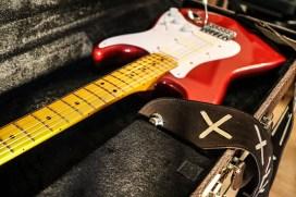 Stratocaster red strat David Gilmour studio Sleepless 9
