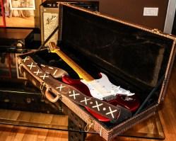 Stratocaster red strat David Gilmour studio Sleepless