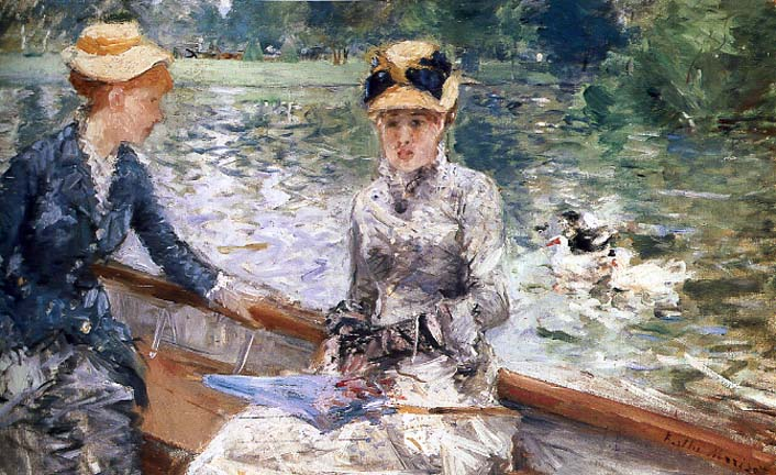 berthe morisot: summer day. 1879.