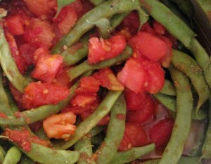 For maximum flavor, cook green beans to death