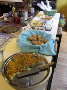 Souffle for potluck buffet