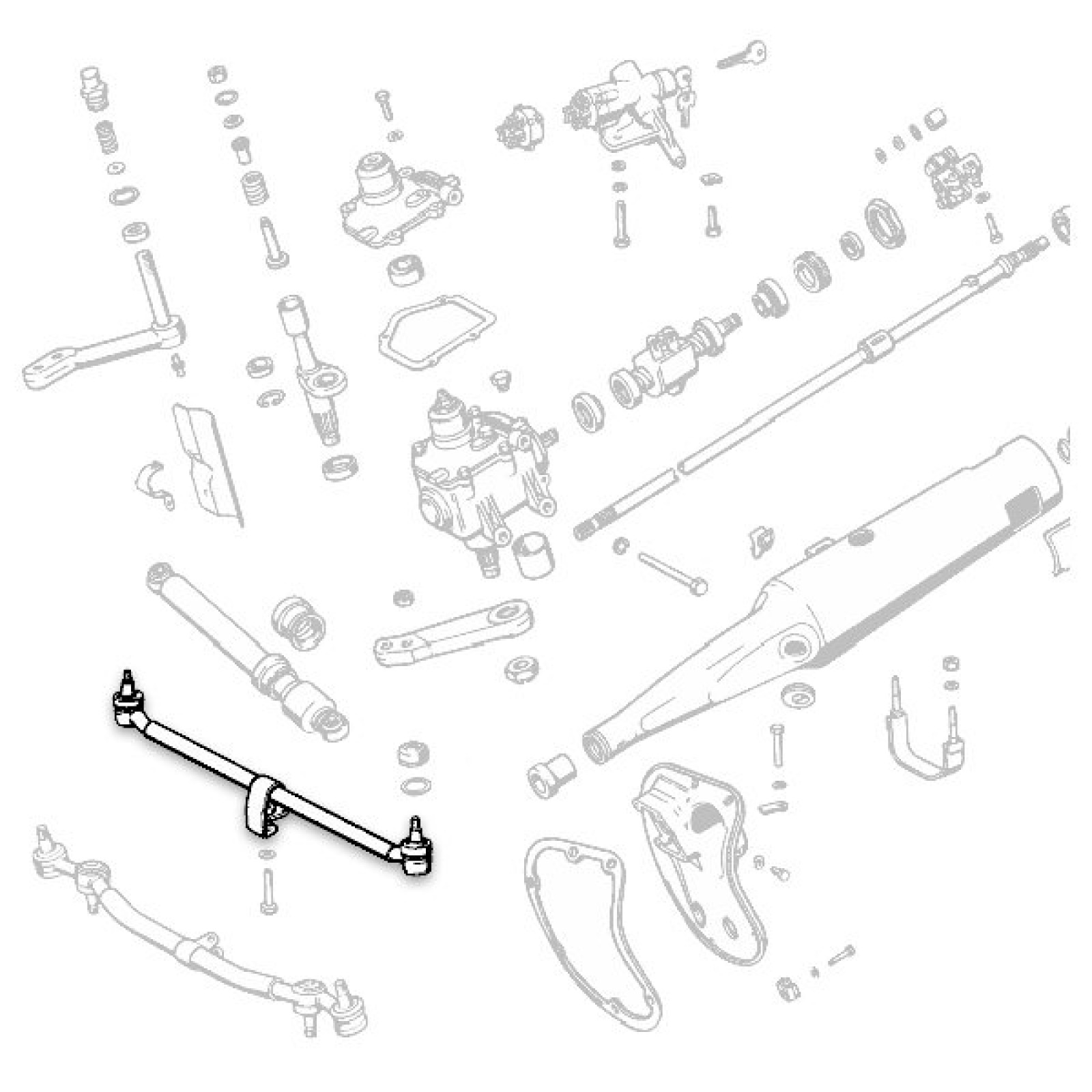 Trailblazer Tie Rod Location