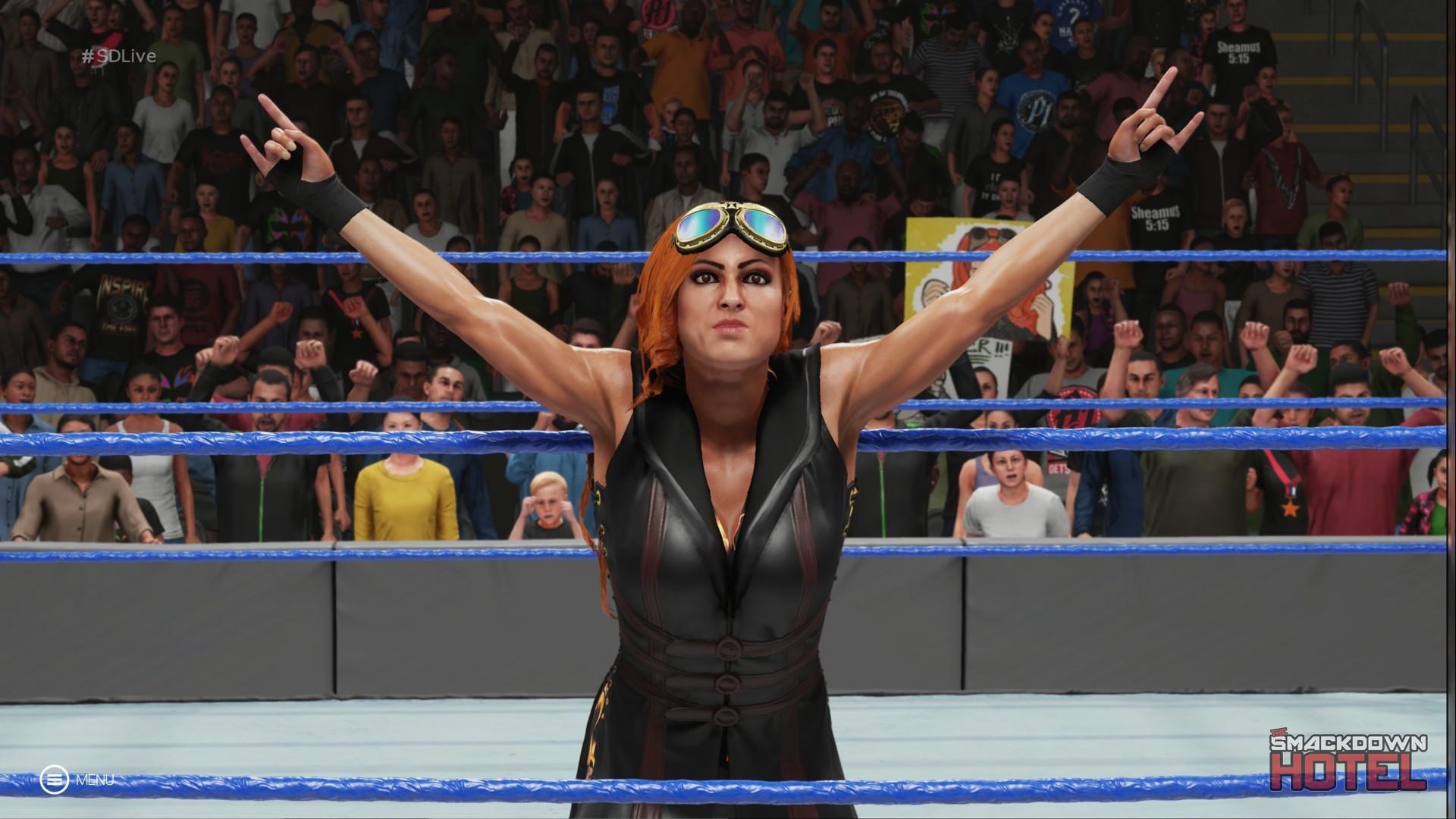 Becky Lynch Wwe 2k19 Roster